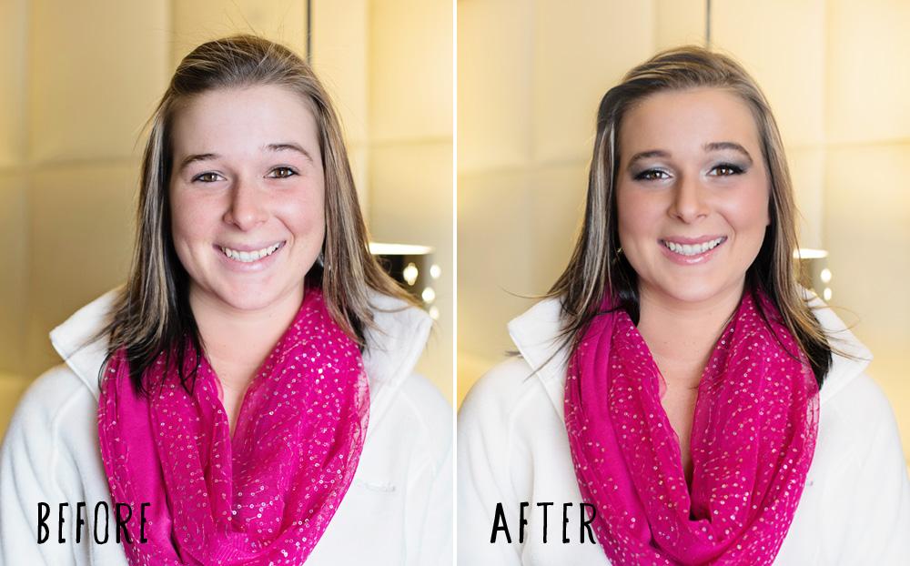 boudoir photography makeover makeup professional makeup artist